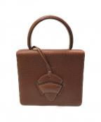 LOEWE()の古着「バルセロナ2WAYバッグ」|ブラウン