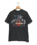 HARLEY-DAVIDSON(ハーレーダビットソン)の古着「【古着】Tシャツ」|ブラック