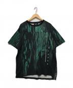 X-LARGE(エクストララージ)の古着「エイリアン20thコラボTシャツ」|ブラック×グリーン