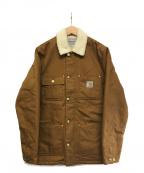 Carhartt WIP(カーハートダブリューアイピー)の古着「Fairmount Coat」 ブラウン