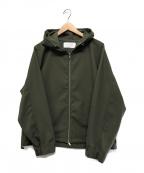 KURO(クロ)の古着「フーデッドジャケット」|カーキ