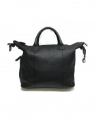 GIORGIO ARMANI(ジョルジョアルマーニ)の古着「2WAYレザーバッグ」|ブラック