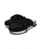 Maison MIHARA YASUHIRO(メゾン ミハラヤスヒロ)の古着「sneaker sandal」|ブラック