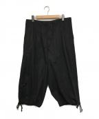 GROUND Y(グラウンドワイ)の古着「コットンブロードバルーンパンツ」 ブラック