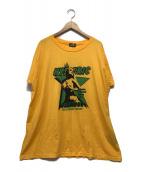 ()の古着「HOLLYWOOD DREAMS ビッグTシャツ」 イエロー