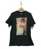 Thee Hysteric XXX(ジィーヒステリックトリプルエックス)の古着「プリントTシャツ」 ブラック