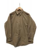()の古着「オーバーサイズカシュシャツ」 ベージュ