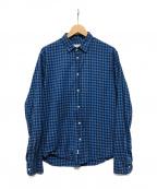 Frank&Eileen(フランクアンドアイリーン)の古着「チェックシャツ」 ブルー