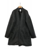 ()の古着「Cashmere Coat」 グレー