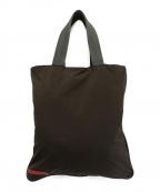PRADA SPORTS()の古着「ナイロントートバッグ」|ブラウン