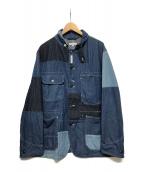 ()の古着「Trucker Jacket Washed 8oz Deni」|インディゴ