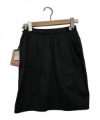 MIU MIU(ミュウミュウ)の古着「ミニスカート」|ブラック