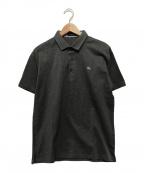 BURBERRY BLACK LABEL(バーバリーブラックレーベル)の古着「ポロシャツ」 グレー