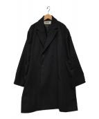 ()の古着「eggコート」 ブラック