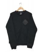 ()の古着「SWEAT CREW NECK TOP」|ブラック
