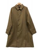 ()の古着「リバーシブルステンカラーコート」|ブラウン×ベージュ