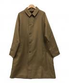BEAUTY&YOUTH(ビューティアンドユース)の古着「リバーシブルステンカラーコート」|ブラウン×ベージュ