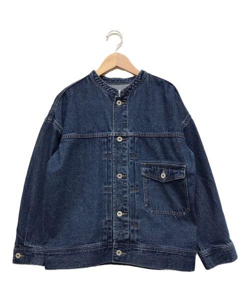 bit blue(ビットブルー)bit blue (ビットブルー) オーバーデニムジャケット インディゴ サイズ:Sの古着・服飾アイテム