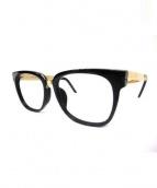 SUPER BY RETROSUPERFUTURE(スーパーバイレトロスーパーフーチャー)の古着「眼鏡」|ブラック