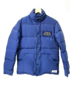 ROTT WEILER(ロットワイラ)の古着「ワッペンダウンジャケット」|ブルー
