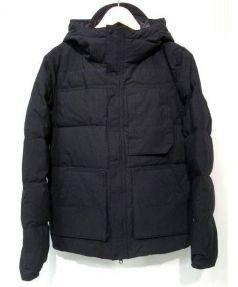Snow peak(スノーピーク)の古着「フーデッドダウンジャケット」|ブラック