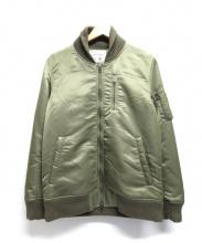 SABLE CLUTCH(セーブルクラッチ)の古着「MA-1ジャケット」|オリーブ