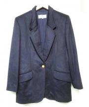 PIERRE BALMAIN(ピエール バルマン)の古着「カシミヤブレザージャケット」|ネイビー