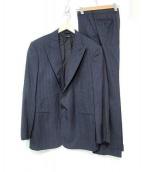 GIORGIO ARMANI(ジョルジオアルマーニ)の古着「ストライプ2Bスーツ」|ネイビー