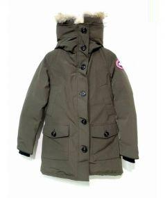 CANADA GOOSE(カナダグース)の古着「BRONTEダウンコート」|オリーブ