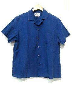Acne studios(アクネストゥディオズ)の古着「オープンカラーシャツ」|ネイビー