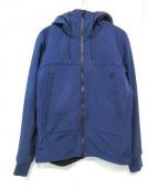 C.P COMPANY(シーピーカンパニー)の古着「ゴーグル付きボンディングパーカージャケット」|ネイビー×ブラック