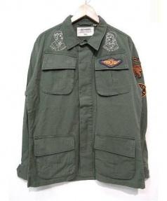 DEUS EX MACHINA(デウスエクスマキナ)の古着「ミリタリージャケット」|オリーブ