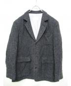Black Fleece(ブラックフリース)の古着「エルボーパッチツイードジャケット」