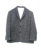 Black Fleece(ブラック フリース)の古着「3Bツイードジャケット」|グレー