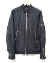 DIESEL(ディーゼル)の古着「ナイロンジャケット」|ブラック