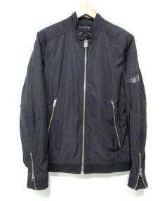 DIESEL(ディーゼル)の古着「ナイロンジャケット」 ブラック