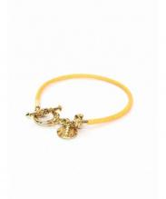 Ruxulia(ルクスリア)の古着「ブレスレット」 ゴールド×オレンジ