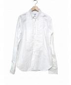 Black Fleece(ブラックフリース)の古着「ダブルカフスロングシャツ」|ホワイト
