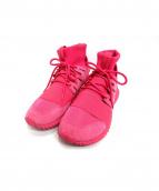 adidas(アディダス)の古着「TUBULAR DOOM」|ショッキングピンク