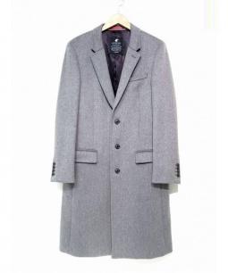LOVELESS(ラブレス)の古着「メルトンチェスターコート」|グレー