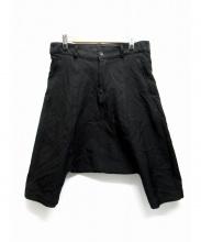 BLACK COMME des GARCONS(ブラックコムデギャルソン)の古着「クロップドサルエルパンツ」