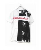 TAKAHIROMIYASHITA TheSoloIst.(タカヒロミヤシタザソロイスト)の古着「プリントTシャツ」 ホワイト