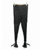 ALYX(アリクス)の古着「プリーツパンツ」|ブラック