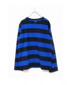 agnes b homme(アニエスベーオム)の古着「ボーダーTシャツ」