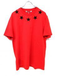 GIVENCHY(ジバンシー)の古着「パイルスターTシャツ」