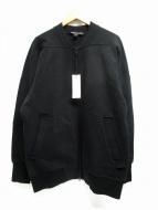 Y-3(ワイスリー)の古着「ビッグスウェットボンバージャケット」 ブラック