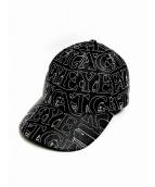BlackEyePatch(ブラックアイパッチ)の古着「刺繍キャップ」|ブラック