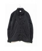 C.P COMPANY(シーピーカンパニー)の古着「ナイロンジップアップジャケット」|ブラック