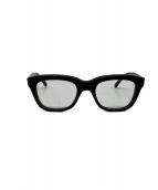CALEE(キャリ)の古着「伊達眼鏡」|ブラック
