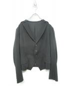 Ys(ワイズ)の古着「ジャケット」|ブラック